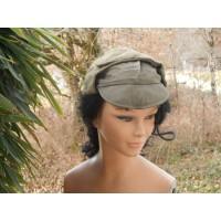 casquette fourrée militaire Allemande